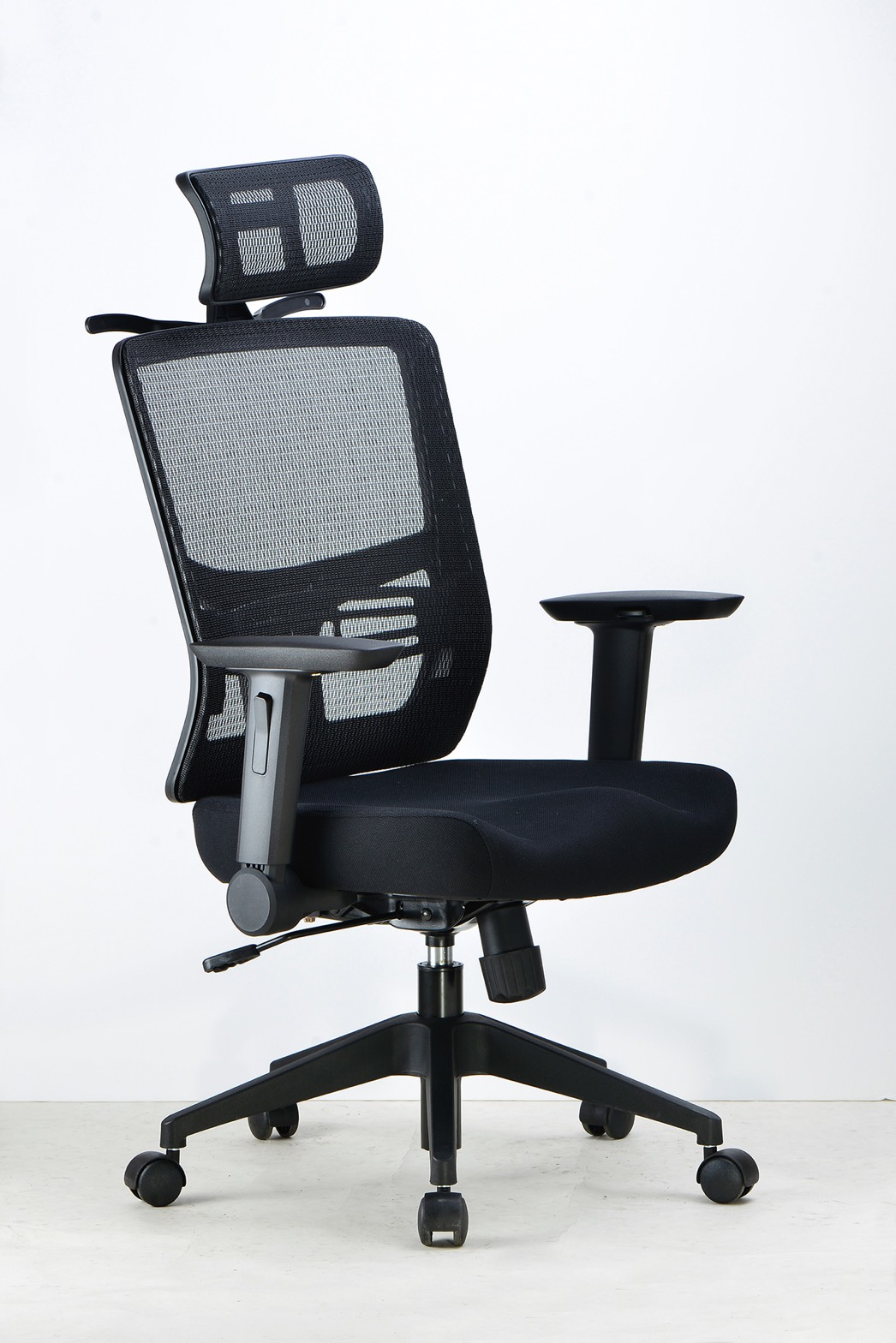 JE-0910-1   抗疫  造型人體工學網椅  辦公椅